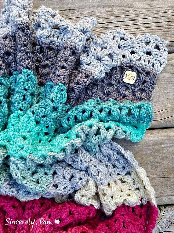 Victoria Afghan Crochet Pattern pdf | in stitches | Pinterest ...