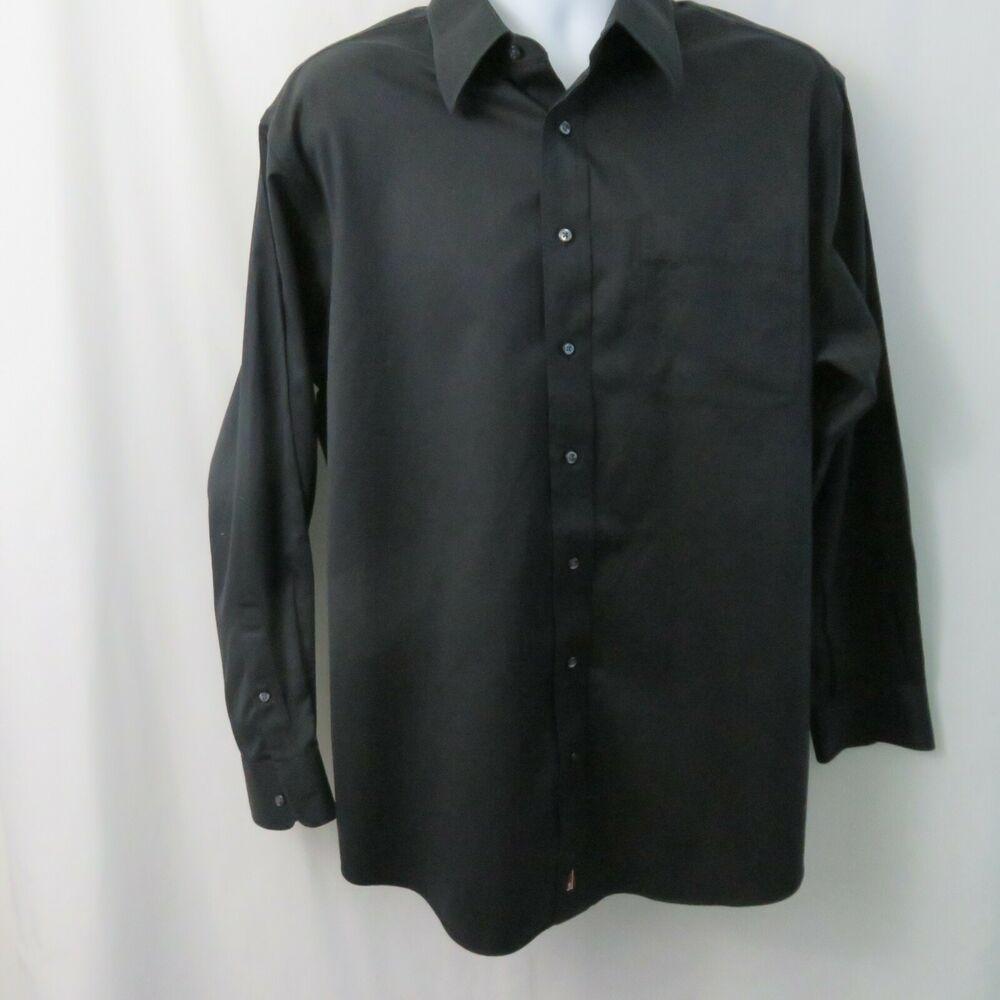 Nordstrom Black Dress Shirt Ls No Iron Mens 16 1 2 Smartcare Wrinkle Free Nordstrom Black Shirt Dress Mens Shirt Dress Shirts [ 1000 x 1000 Pixel ]