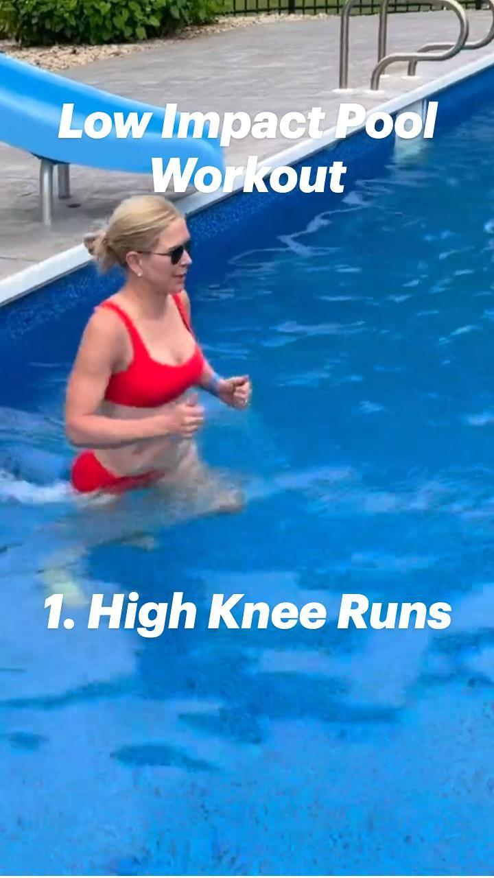Low Impact Pool Workout