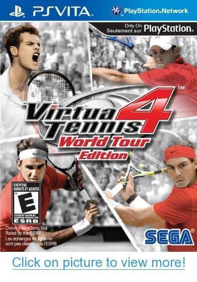 Virtua Tennis 4 #Virtua #Tennis | PS Vita Games