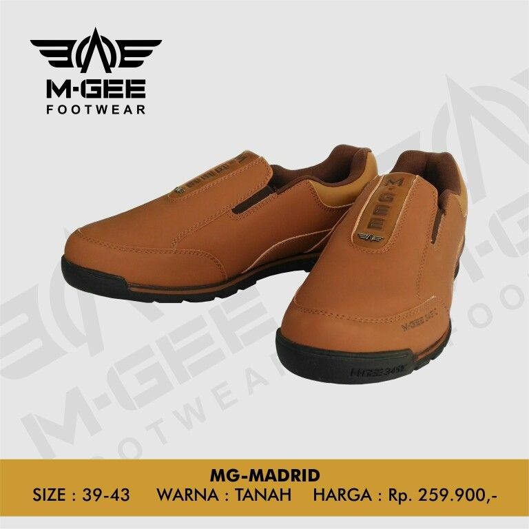 M-GEE Footwear MG-MADRID Tan