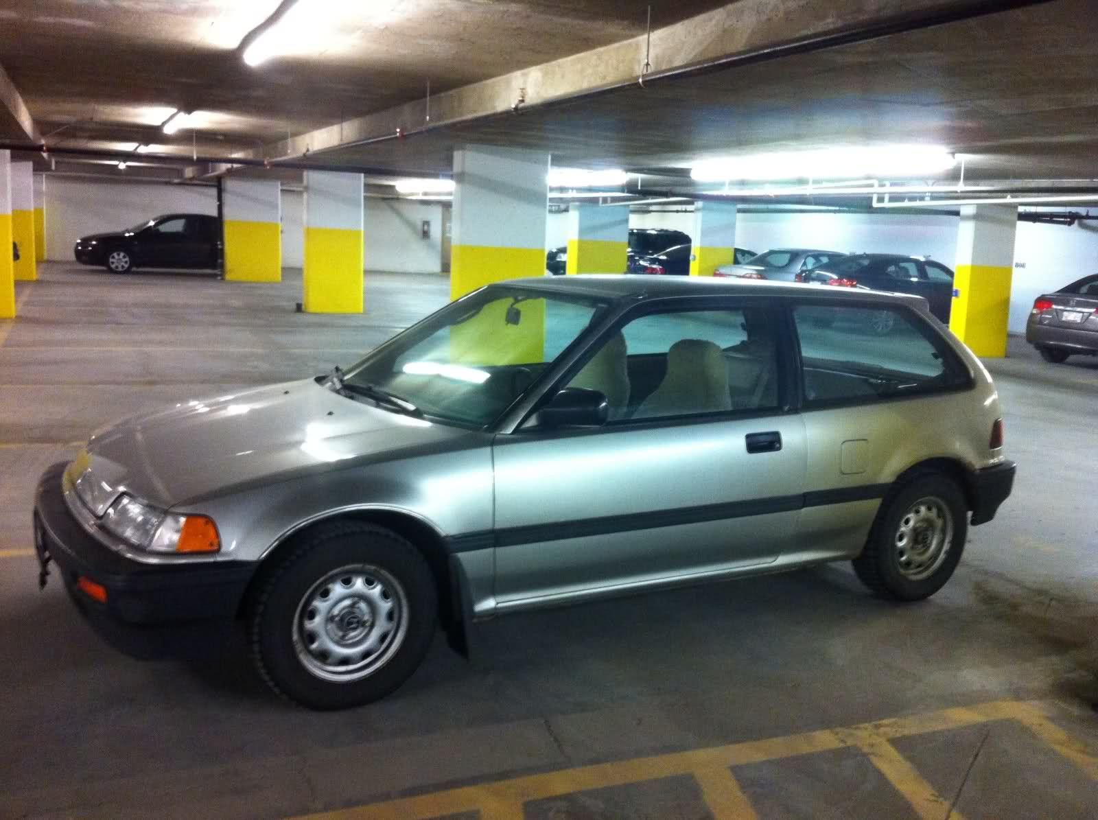 Honda civic dx 4th generation my old car 1988 1989 for Honda civic 1988