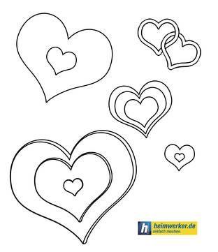 malvorlage linie | Valentinstag-Malvorlagen – Kostenlose Vorlagen zu Valentin bei ...