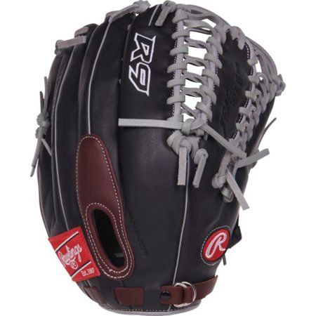 Rawlings R9 Series 12 75 Inch Outfield Baseball Glove Right Hand Throw Gloves Rawlings Baseball Baseball