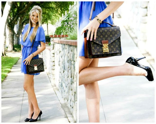 Dark blue dress what color nails with royal blue