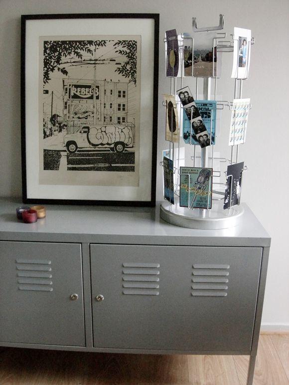 pr sentoir cartes postales fi re comme un bar tabac bar et ikea. Black Bedroom Furniture Sets. Home Design Ideas