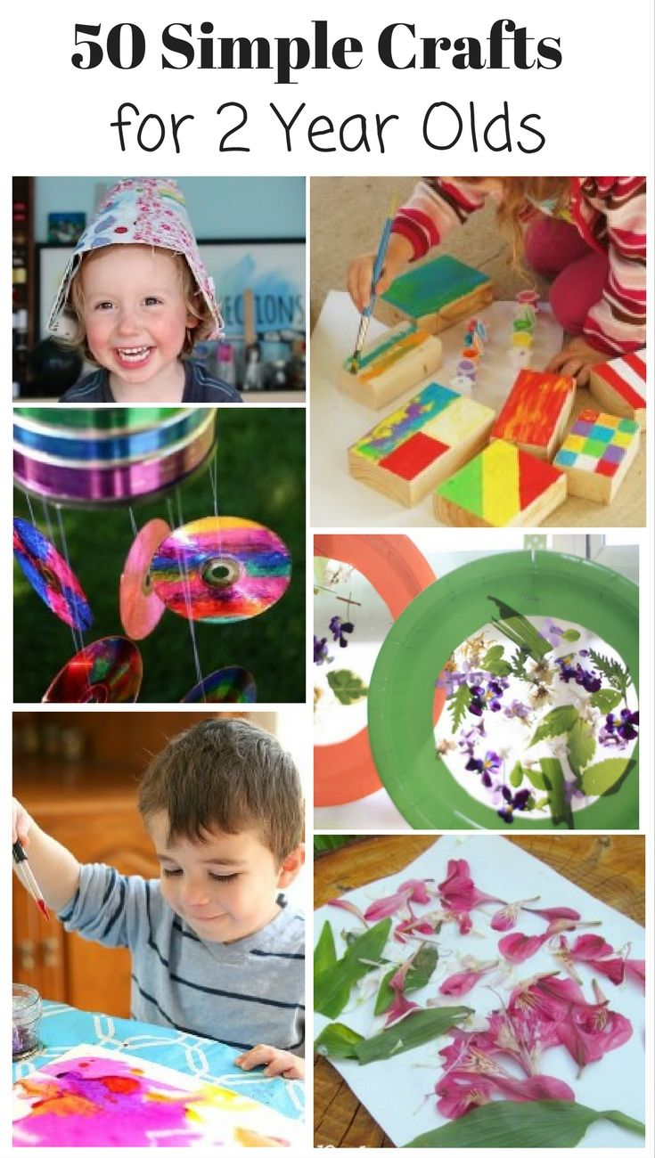 50 Perfect Crafts For 2 Year Olds Craft Ideas Pinterest Crafts