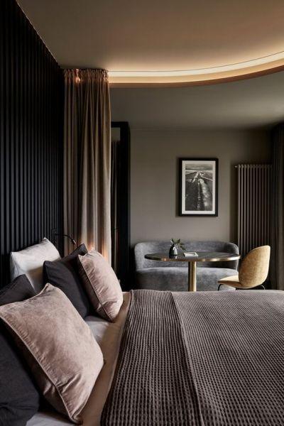 "Minimalist Hotel Room: Thedecorlove: ""Happy New Year! """