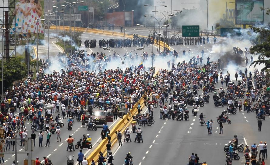 #world #news  Venezuela says second young man killed in anti-Maduro protests