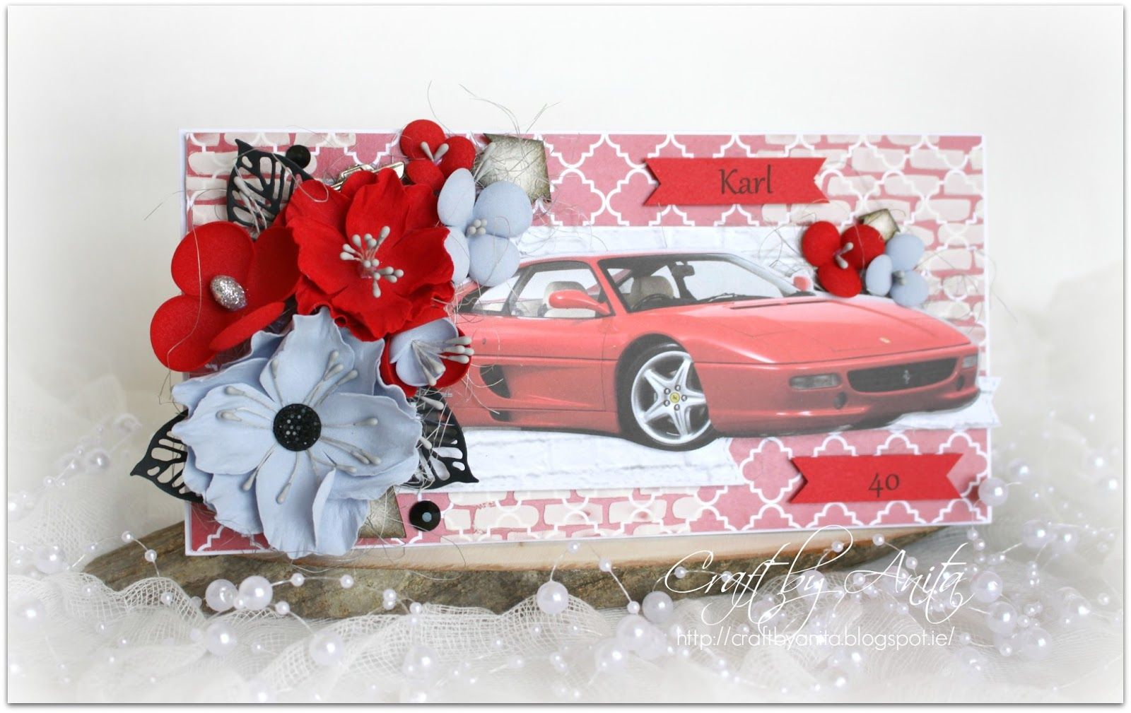 Craft By Anita 40 Urodziny 40th Birthday Pomysly Urodzinowe I