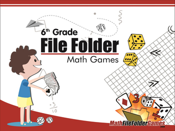 image regarding 6th Grade Printable Math Games known as 6th Quality Document Folder Math Online games My TpT Vacation Want Checklist