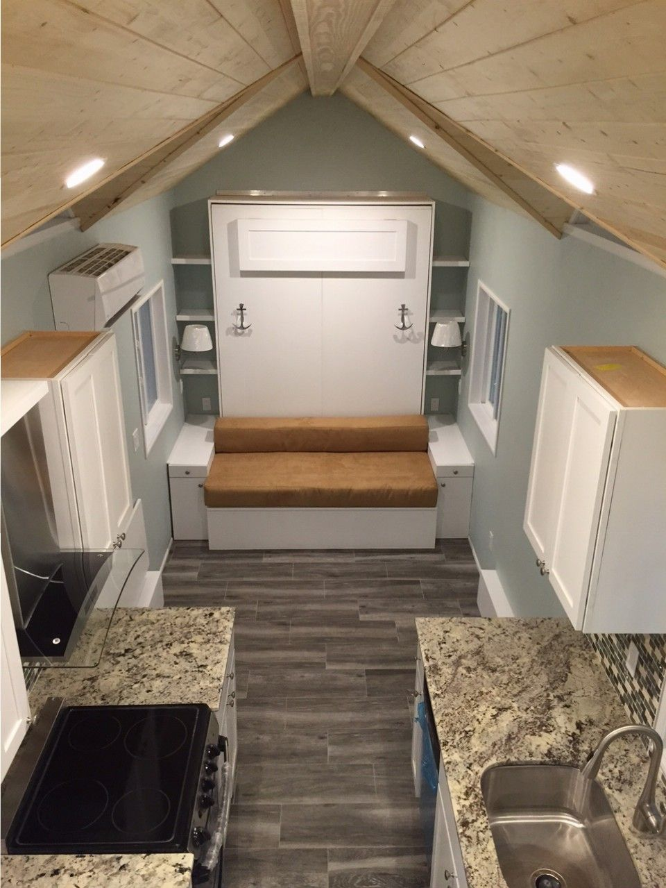 ravishing tiny trailer house. Cornerstone Tiny Homes  Longwood FL tiny house on wheels Fontana model