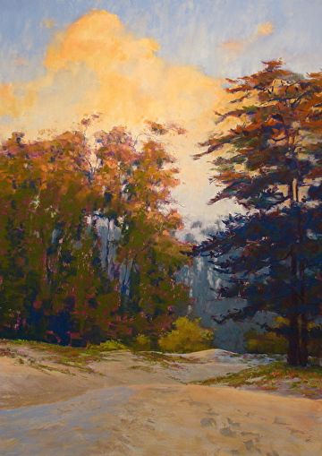 "Coastal Grandeur 27.5 x 19"" pastel landscape painting by Clark Mitchell  pastel paintings, original art, art for sale, landscape paintings, California paintings, plein air, plein air paintings, canvas artwork for sale, original fine art for sale, original oil paintings for sale, framed wall art, painted landscape, great landscape artists, scenery paintings, beautiful landscape paintings,"
