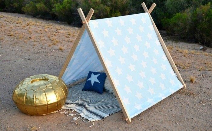 comment fabriquer un tipi 60 id es pour une tente indienne sympa pinterest. Black Bedroom Furniture Sets. Home Design Ideas
