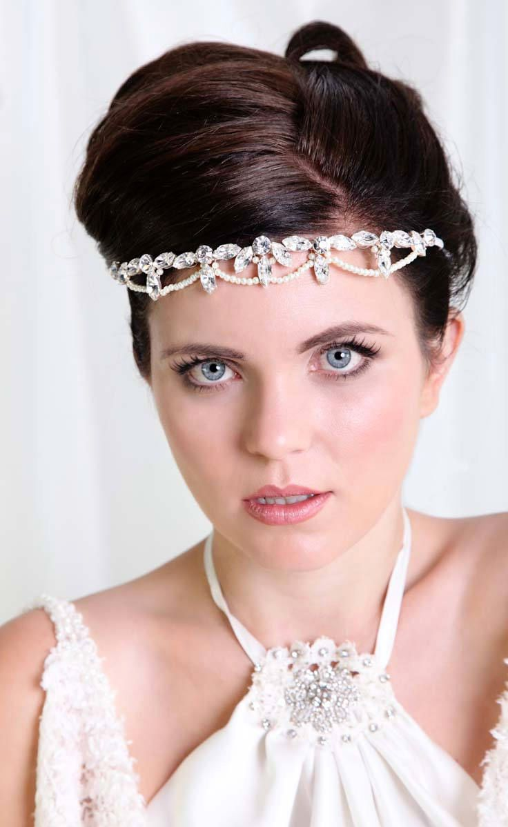 Gatsby Theme Bridal Forehead Band. A perfect forehead band to ...