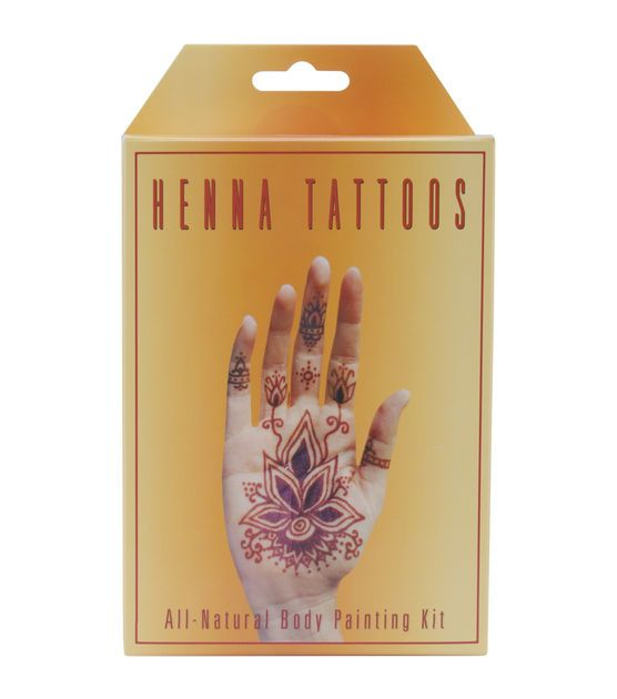 Henna Tattoo Kits For Sale: Earth Henna Body Painting Kit