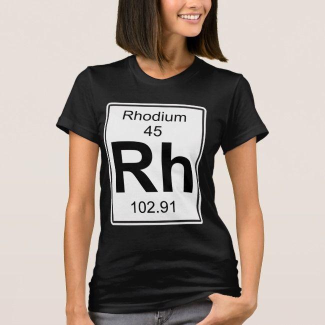 Rh  Rhodium TShirt