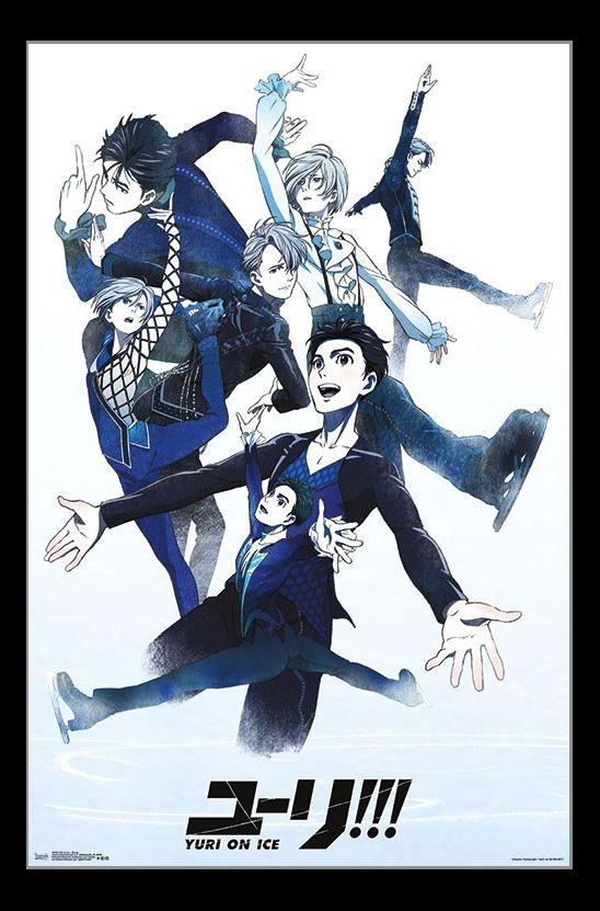 Yuri On Ice - Group Poster Print (22 x 34)