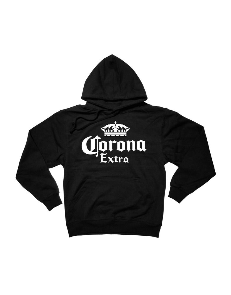 dce40980ae74 Corona Extra Logo Pullover Hoodie Beer Bar   Black S-XL  fashion  clothing   shoes  accessories  mensclothing  activewear (ebay link)