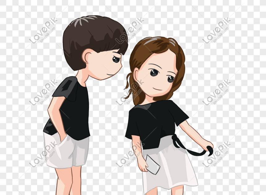24 Gambar Kartun Berdua Romantis Gambar Kartun Pasangan So Sweet 9 Ilustrasi Yang Nggak Kalah Romantis Dengan Drama Kumpula Di 2021 Ilustrasi Karakter Kartun Chibi