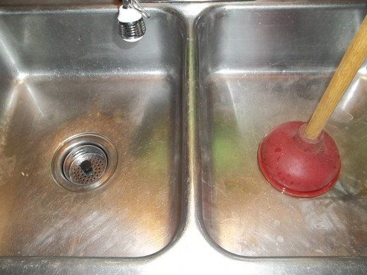 How To Unclog A Double Kitchen Sink Drain Cleaning