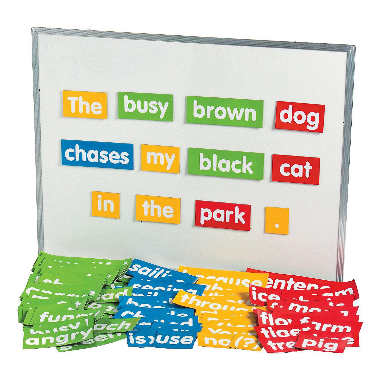 Sentence Building Magnet Set