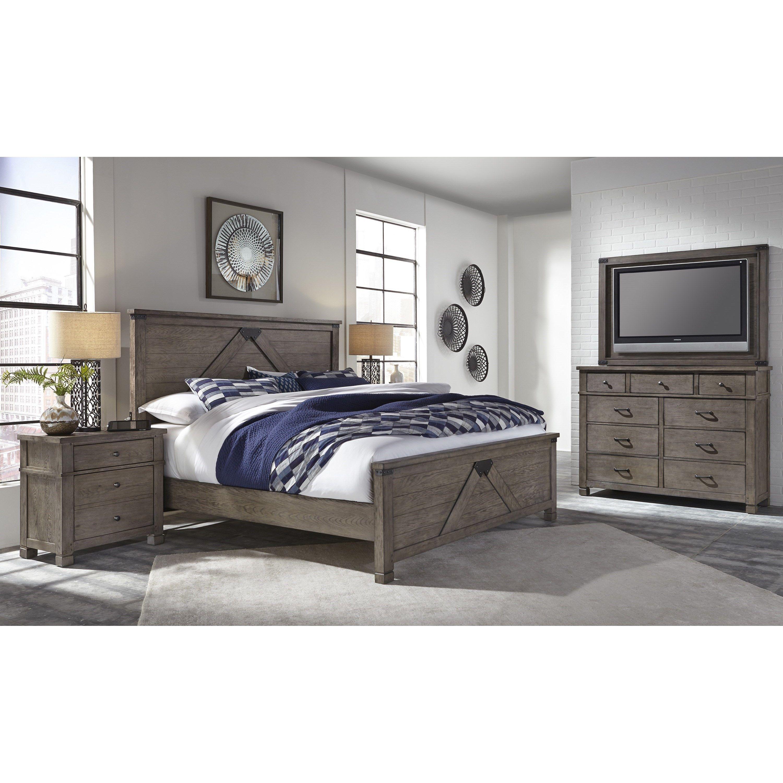 Tucker Queen Bedroom Group by Aspenhome
