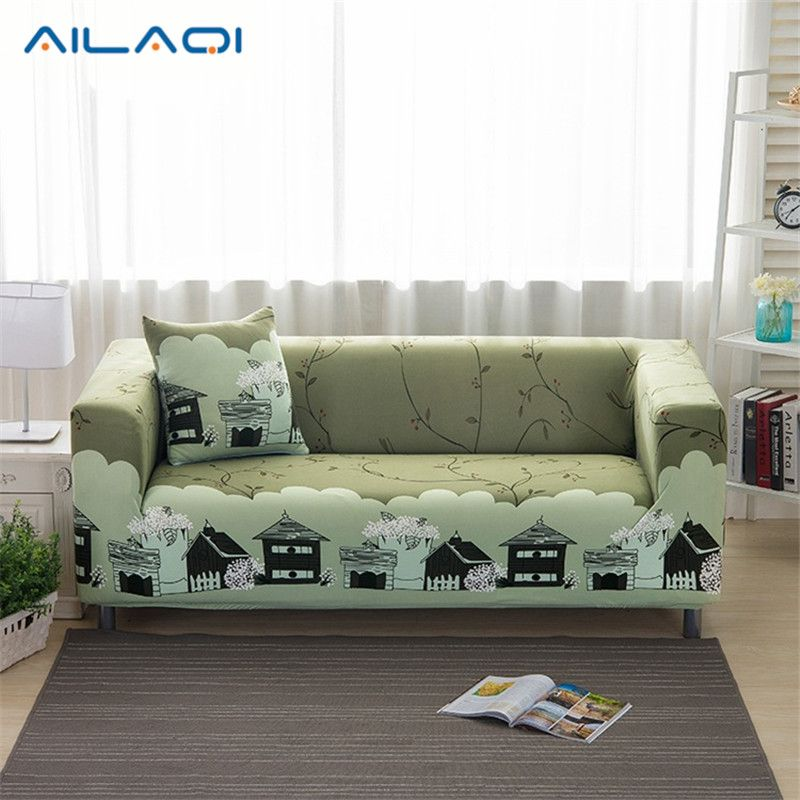 1 2 3 Seat Plush Flexible Stretch Sofa Cover Big Elasticity Couch Cover Slipcover Furniture Protector Cute Cartoon S Sofa Covers Printed Sofa Slipcovered Sofa