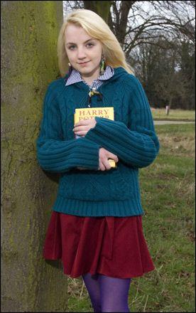 ルーナ ラブグッド イヴァナ リンチ mikioのブログ ハリー ポッターのキャラクター ハリー ポッターの映画 ルーナ