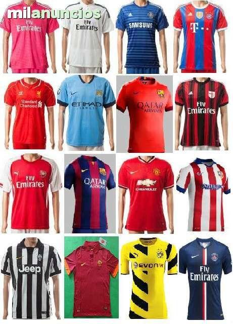 538b3d38d2f60 Elige la camiseta de tu equipo de futbol