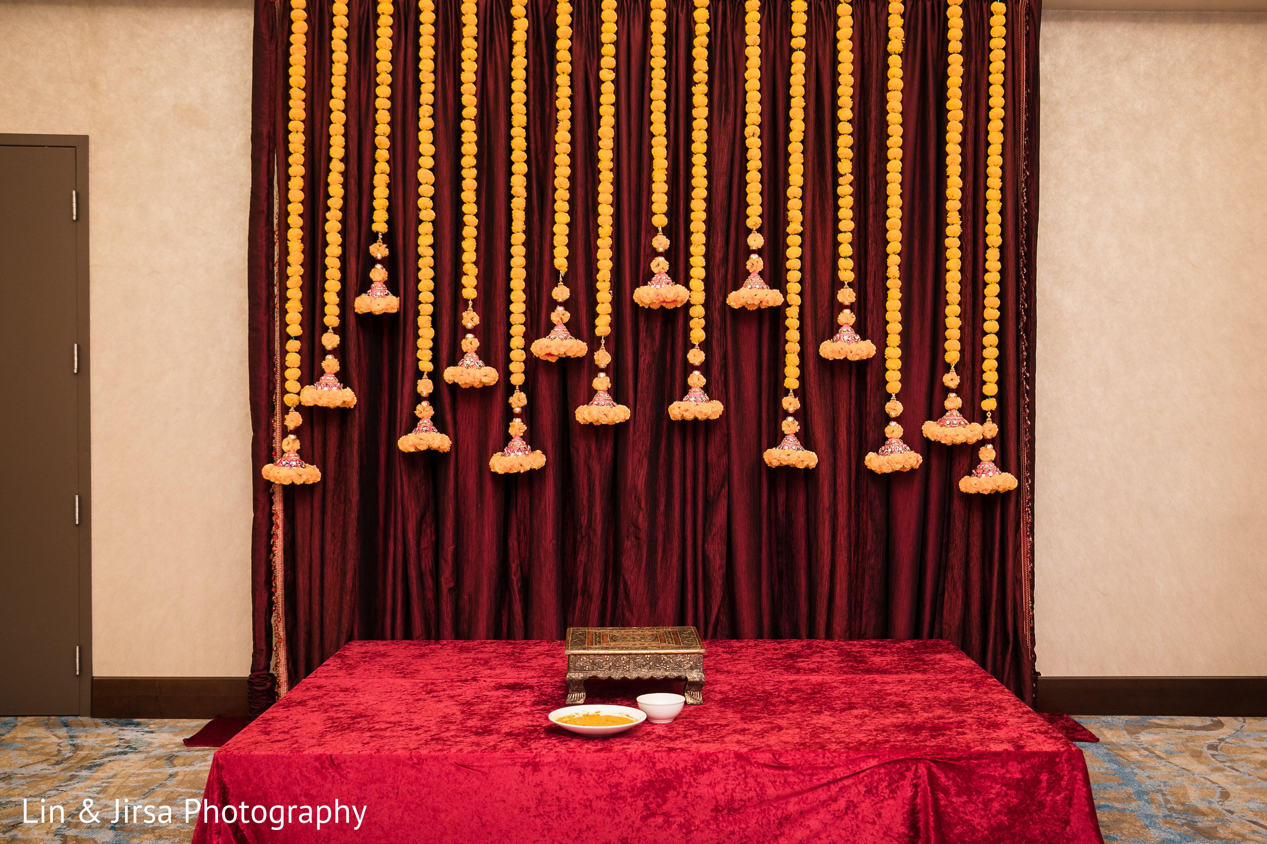 Haldi Ceremony Stage Decor Original Sbs Flower Decor In 2019