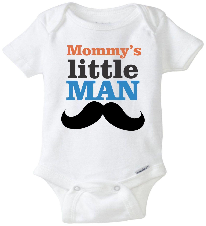 edda0c7183ce Mommy s little man baby onesie funny onesie baby shower gift newborn ...
