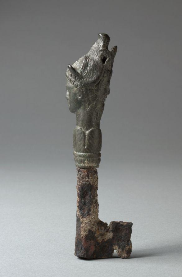 """Key"" (ca. 1st century). Roman, Italy. Posted on clevelandart.org."