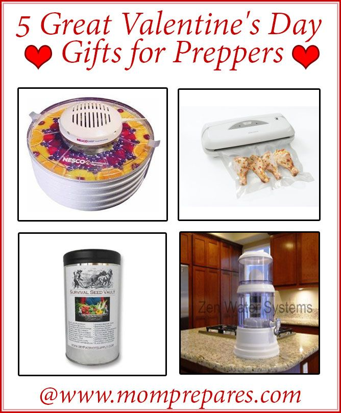 5 Valentine S Day Gifts For Preppers Self Sufficency