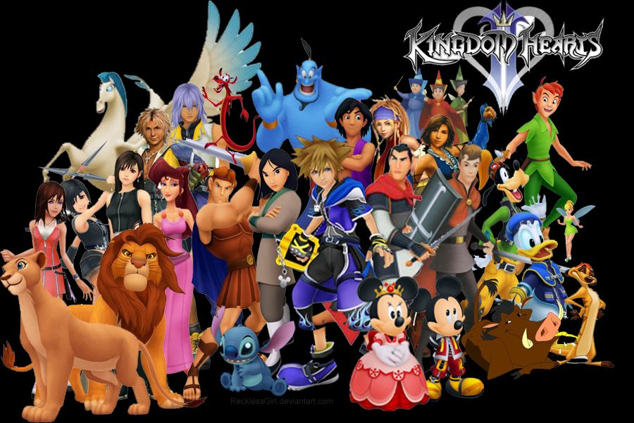 Image result for kingdom hearts disney characters