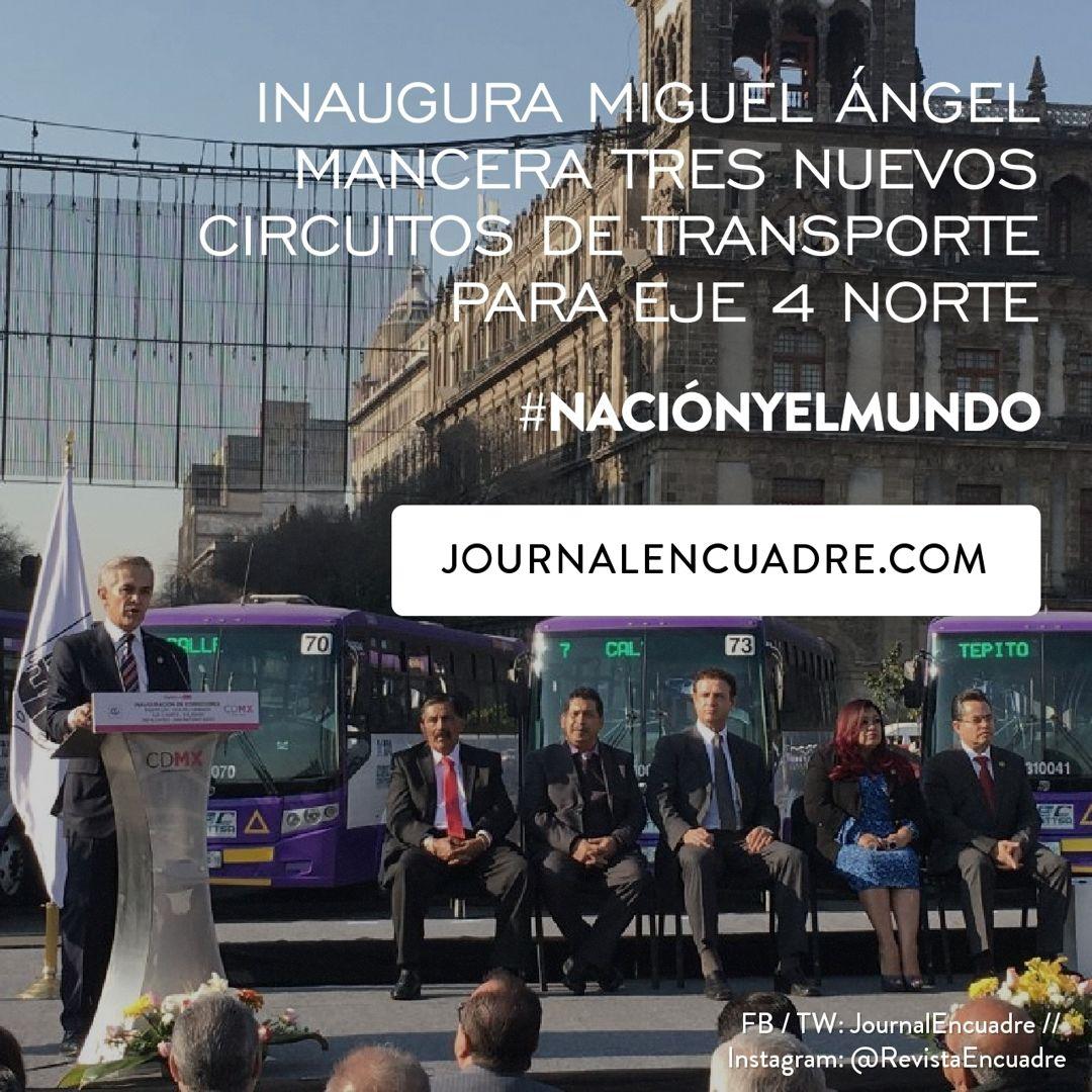 Revista Encuadre » Inaugura Miguel Ángel Mancera tres nuevos ...