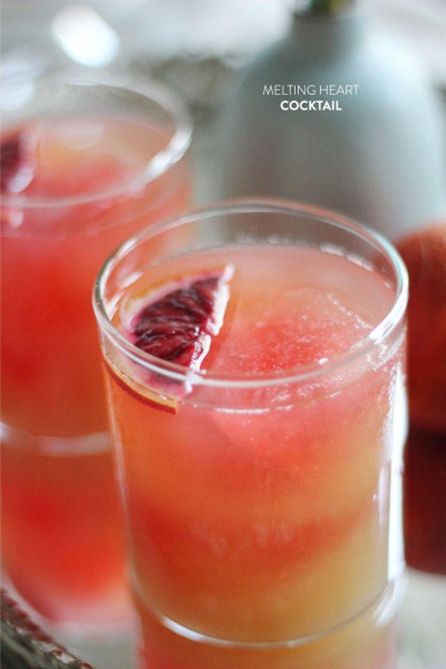 melting heart cocktail