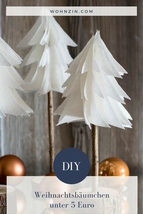 DIY: Minimalistische Weihnachtsdeko selber machen #weihnachtsgeschenkeselbermachen
