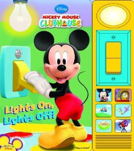 Mickey Mouse Clubhouse: Lights On, Lights Off!: Editors of Publications International Ltd.: 9781450807630: Amazon.com: Books