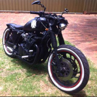 My xj 750 bobber