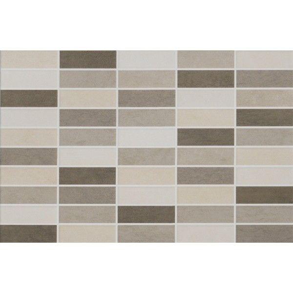 Discontinued Ragno Tile: Ragno Touch Mosaic Ivory 25x38 Cm R2JM