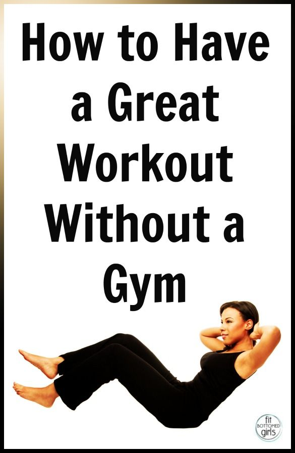 No gym, no problem! Six awesome no-gym resources that we love and are totally easy to incorporate!