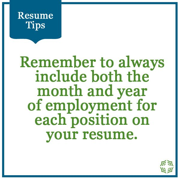 Resume Tips, Job Search, Tips