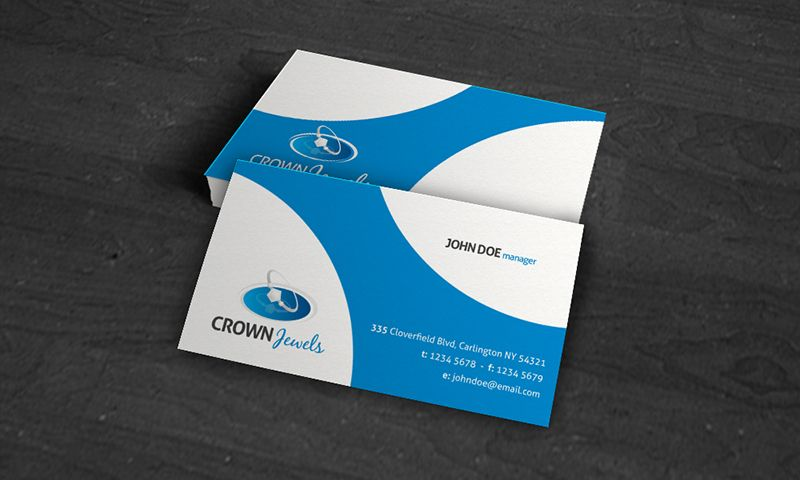 Business Card Design At Free Templates