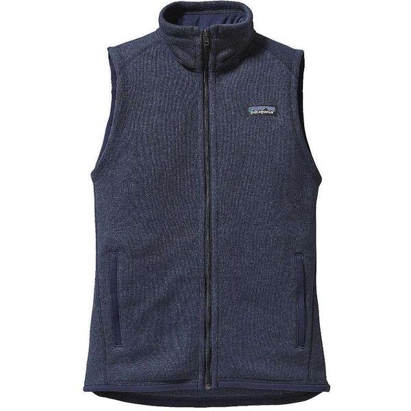 Patagonia Women's Better Sweater Vest ($99) ❤ liked on Polyvore ...
