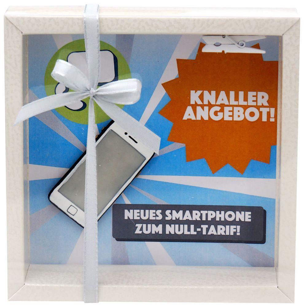 Geldgeschenk Verpackung Handy Smartphone Geschenk ...