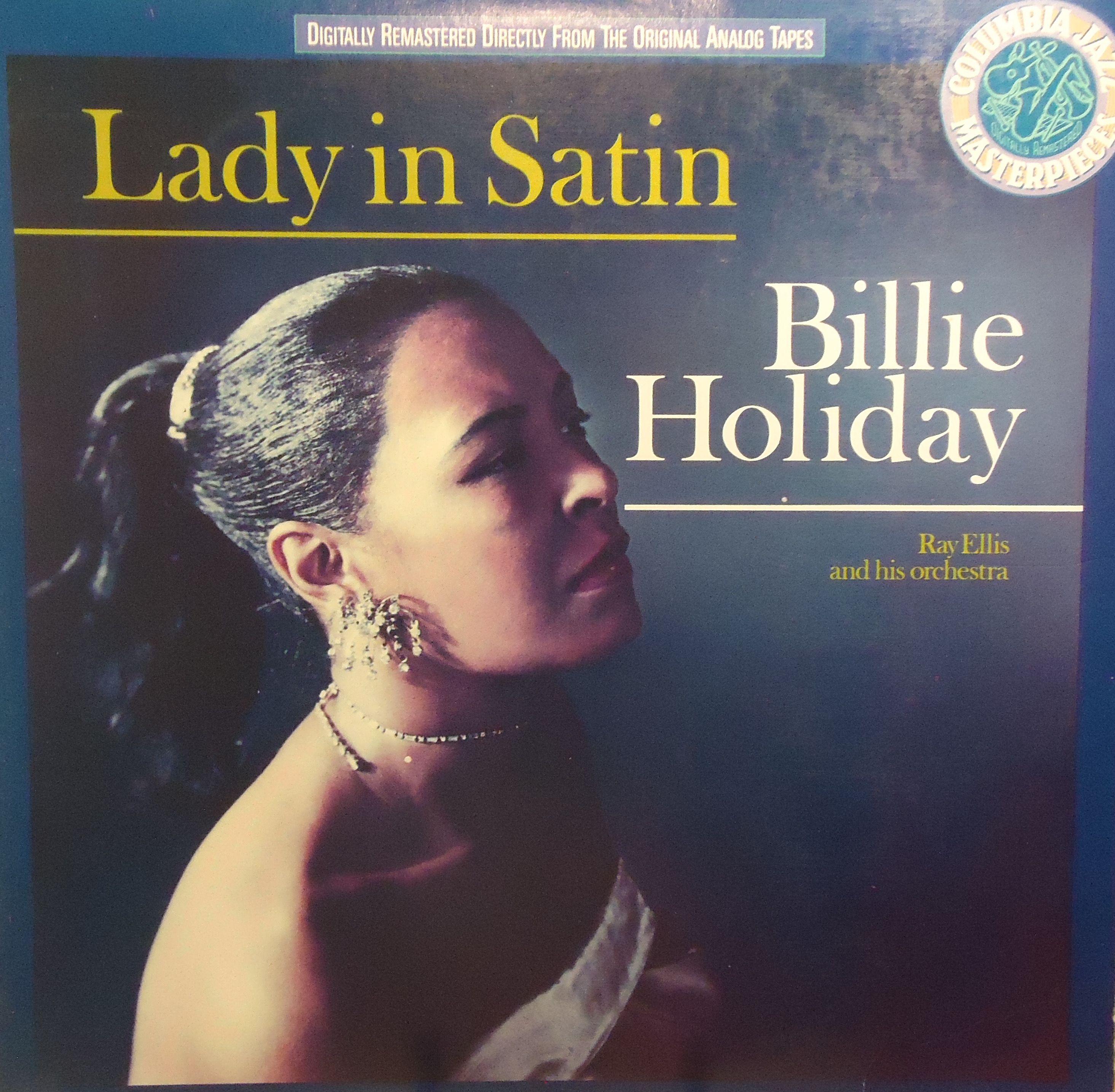 Billie holiday lady in satin columbia jazz