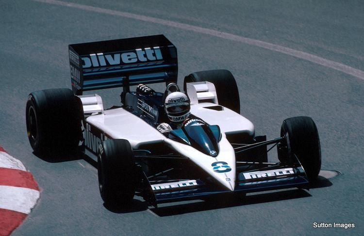Elio de Angelis in the Brabham BT55