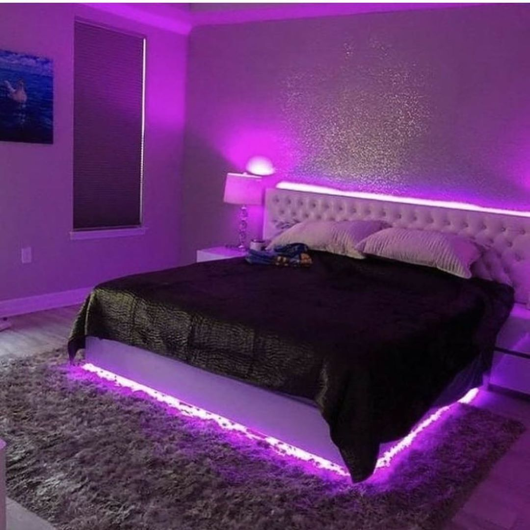 40 beautiful bedrooms with great ideas to steal led lighting bedroom neon room neon bedroom on cute lights for bedroom decorating ideas id=80940