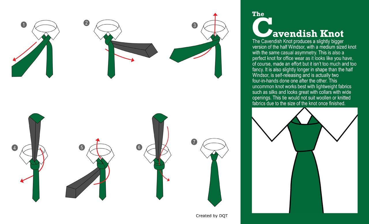 How To Tie A Cavendish Knot (10 Of 21) By Dqt